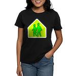 Alien School Xing Women's Dark T-Shirt