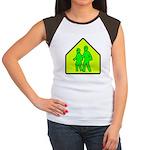 Alien School Xing Women's Cap Sleeve T-Shirt
