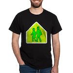 Alien School Xing Dark T-Shirt