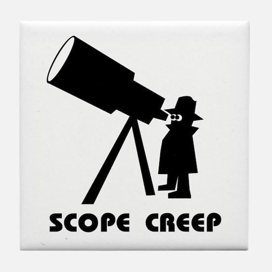 Scope Creep Tile Coaster