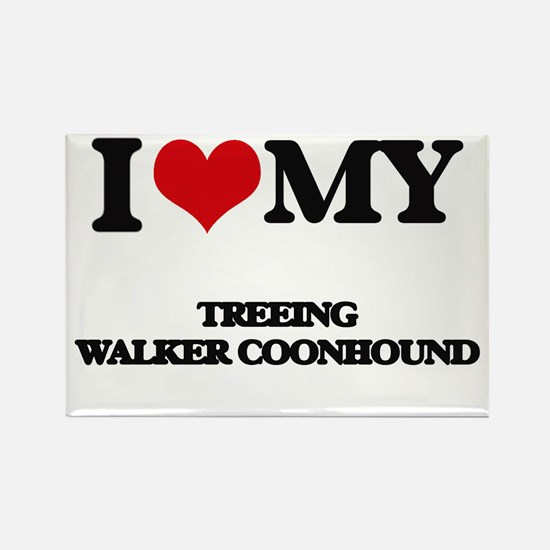 I love my Treeing Walker Coonhound Magnets