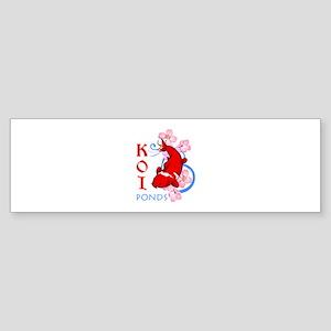 KOI PONDS Bumper Sticker