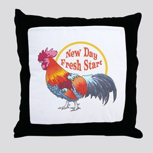 NEW DAY FRESH START Throw Pillow