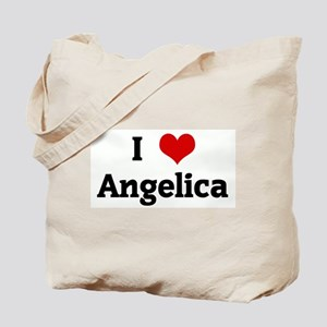 I Love Angelica Tote Bag