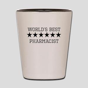 Worlds Best Pharmacist Shot Glass