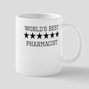 Worlds Best Pharmacist Mugs