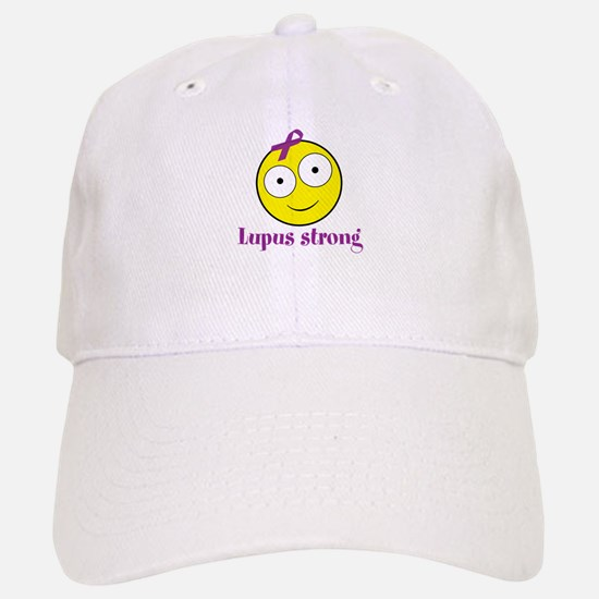Personalizable Cancer/Lupus Smile Baseball Baseball Cap