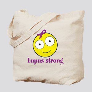 Personalizable Cancer/Lupus Smile Tote Bag