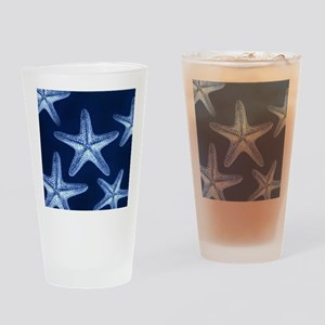 beach blue starfish Drinking Glass