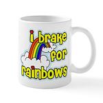 I Brake For Rainbows Mug