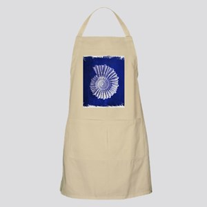 beach blue sea shells Apron