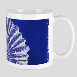 beach blue sea shells Mugs