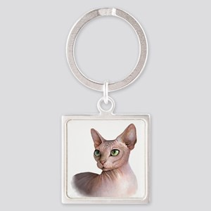 Cat 578 sphinx Keychains