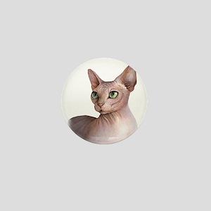 Cat 578 sphinx Mini Button