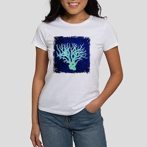 modern beach coral T-Shirt