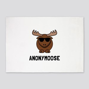 Anonymoose 5'x7'Area Rug