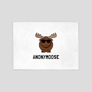 Anonymoose 5 X7 Area Rug