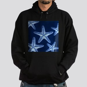 beach blue starfish Hoodie (dark)