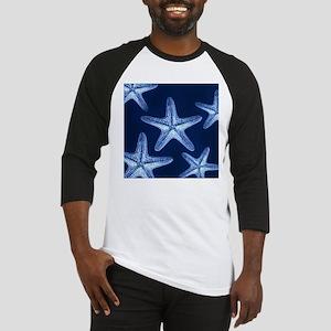 beach blue starfish Baseball Jersey