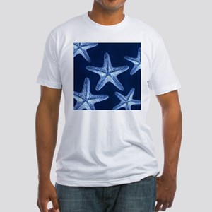 beach blue starfish T-Shirt