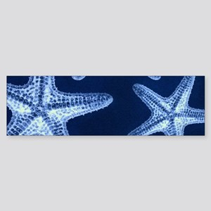 beach blue starfish Bumper Sticker