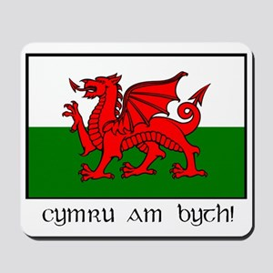 Welsh Dragon Mousepad