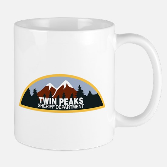 Twin Peaks Sheriff Department Mug Mugs