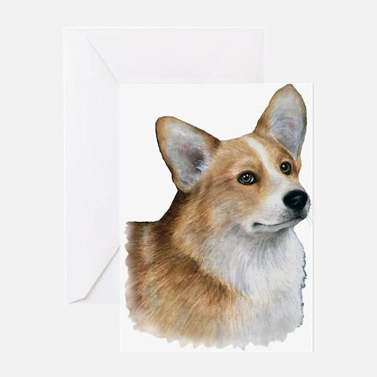 Dog 89 Corgi Greeting Cards