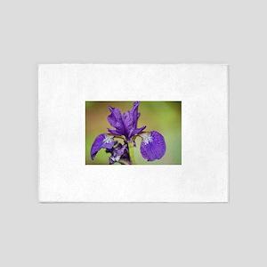 iris outdoors 5'x7'Area Rug