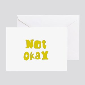 Not Okay Greeting Cards (Pk of 10)