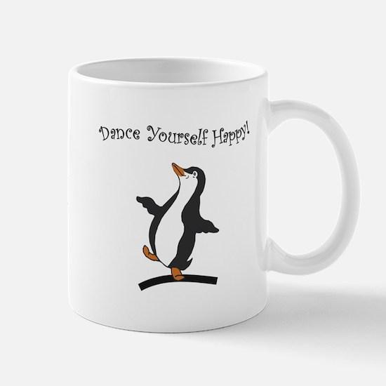 Dancing Penguin - Happy Penguin Mug