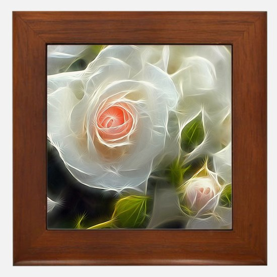 Rose_2014_1102 Framed Tile