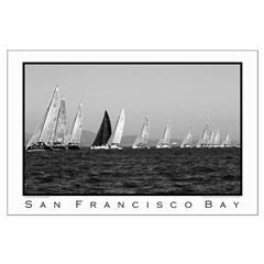 black + white large sailing posters farr 40s 2004
