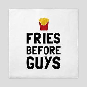 Fries Before Guys Queen Duvet