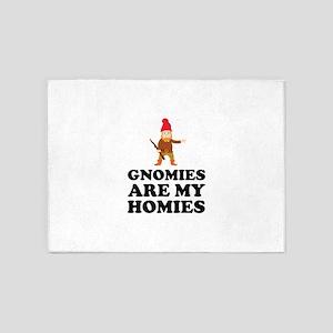 Gnomies Are My Homies 5'x7'Area Rug