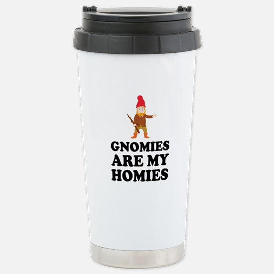 Gnomies Are My Homies Travel Mug