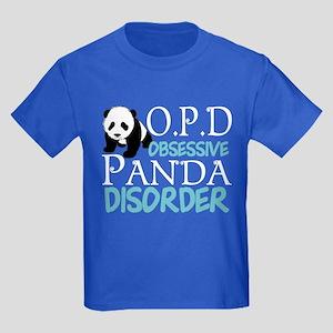 Cute Panda Kids Dark T-Shirt