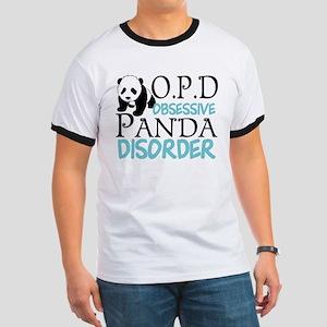 Cute Panda Ringer T