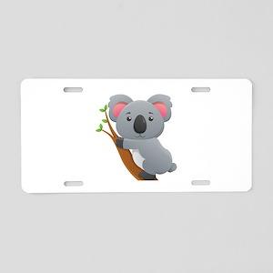 Koala Bear Aluminum License Plate
