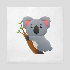 Koala Bear Queen Duvet