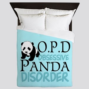 Cute Panda Queen Duvet