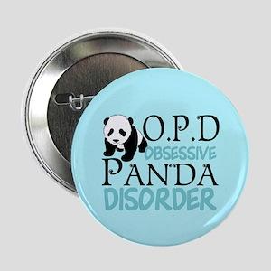 """Cute Panda 2.25"""" Button"""