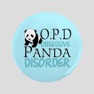 """Cute Panda 3.5"""" Button"""