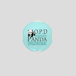 Cute Panda Mini Button