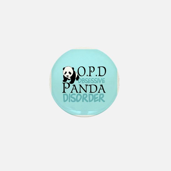 Cute Panda Mini Button