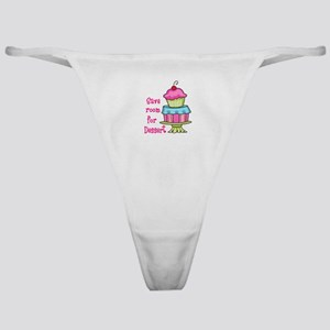 Save Room For Dessert Classic Thong