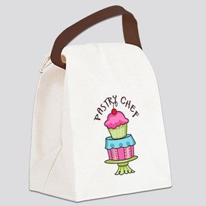Pastry Chef Canvas Lunch Bag