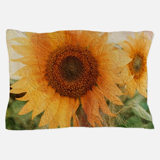 sunflowers Pillow Case