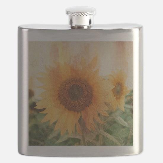 sunflowers Flask