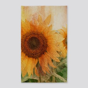 sunflowers Area Rug